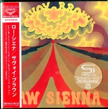 SAVOY BROWN-RAW SIENNA-JAPAN MINI LP SHM-CD Ltd/Ed G00