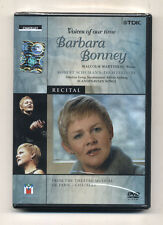 Dvd Voices of our time BARBARA BONNEY Robert Schumann Dichterliebe Op 48