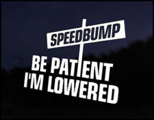Patient Lowered Speed bump JDM Funny Car Decal Euro Drift VAG VW DUB Vinyl