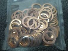 100PC FORD ENGINE OIL DRAIN PLUG WASHER GASKETS (P/N 3C3Z6734AA)