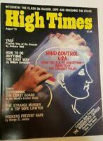 HIGH TIMES WOODSTOCK VINTAGE AUGUST 1979 MARIJUANA MAGAZINE NOS WEED 420 N/M