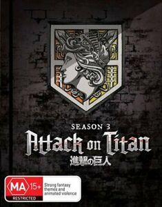 Attack On Titan - Season 3 - Part 1 - Eps 1-12 - Limited Edition | Blu-ray + ...