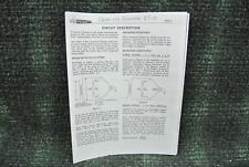 Heathkit IT -11 Capacitor Testing  Manual