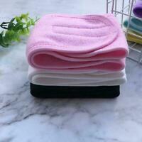 Cosmetic Wrap Tiara Turban Face Wash Adjustable Yoga Bath Women Headbands Y8K0