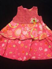 Baby Lulu 3T, Girls Pink Floral Dress