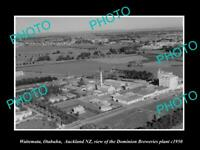 OLD LARGE HISTORIC PHOTO AUCKLAND NEW ZEALAND VIEW OF THE DOMINION BREWERY 1950