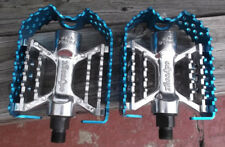 Odyssey Triple Trap Pedals 9/16  blue red black fit old mid new school BMX