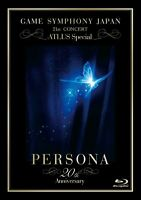 GAME SYMPHONY JAPAN 21st CONCERT ATLUS Special Persona Blu-ray 20th Anniversary
