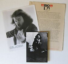 Dr. John Hollywood Be Thy Name 1972 Us Promo Press Kit + Concert Invitation Nola