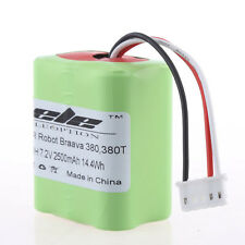 2500mAh Ni-MH 7.2V Battery for iRobot Roomba Braava 380 380T 7.2 Volt