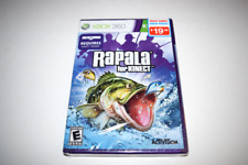 Rapala For Kinect Microsoft Xbox 360 Video Game New Sealed