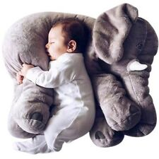 Grey 60cm Colorful Giant Elephant Stuffed Animal Toy Animal Baby Pillow Decor