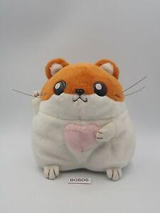 "Hamster Paradise B0806 Atlus 2001 Plush 6"" Stuffed Toy Doll Japan"