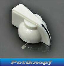 Chicken Head -CHKGR-WH- Potiknopf, Knopf, Rändelachse,  Chickenhead Knob