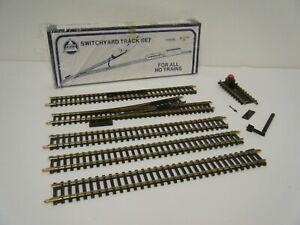 Vintage A.H.M. HO Switchyard Track Set - Track, Spur Switch, Bumper 258OBL New