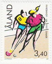 Women Floorball Aland Finland World Championships Åland Mint MNH Stamp 1997