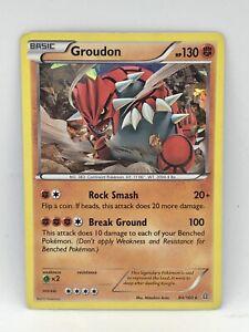 Groudon - 84/160 - Holo Rare - XY: Primal Clash - Pokemon TCG Card - LP/MP