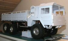 Man 6x6 Scale Cargo Truck Plastic Body Shell * Unpainted * New In Box