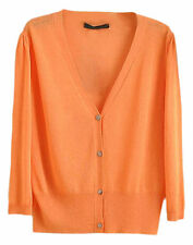 Women's Textured V-Neck Jumpers and Cardigans