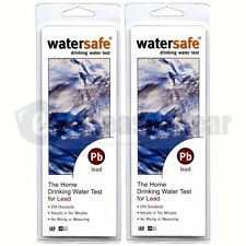 2x Watersafe WS-207 Lead in Home Tap Drinking Water Test Kit, Single Use / each