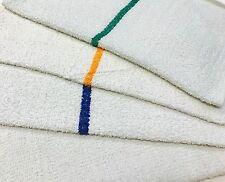 Restaurant Kitchen Towels 60 green stripe bar mops restaurant kitchen towels 30oz | ebay