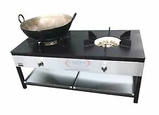 Commercial Stockpot 32 Jet 2X Cooker Catering Wok Cooker Heavy Duty