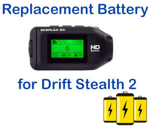 Drift Innovation HD Stealth 2 Stealth2 Camera Battery Replacement