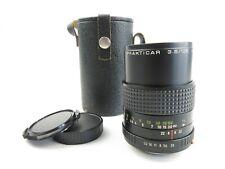 Für Praktica B PB Carl Zeiss Jena Prakticar 3.5/135mm MC Objektiv lens + case