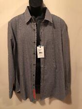 NWT Mens Robert Graham Long Sleeve Button Front Modern Fit Shirt Size 2XL $148