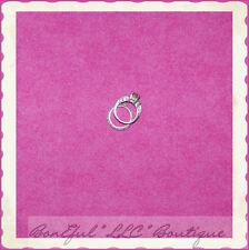 BonEful Fabric FQ Cotton Quilt Bright Pink Fuchsia Dot Princess Doll Dress Girl