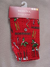 NEW MENS CHRISTMAS HARDWARE TOOL PRINT UNDERWEAR BOXER SHORTS SIZE SMALL
