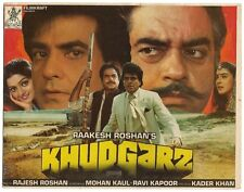 India Bollywood 1996 Khudgarz Press Book Jeetendra Govinda Neelam