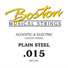 Boston BPL-015 corda singola per chitarra acustica ed elettrica 015