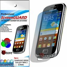 3 Pellicola Per Samsung Galaxy Mini 2 S6500 Proteggi Schermo Display Pellicole