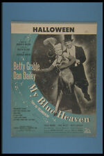 308044 Halloween 1950 A4 FOTO STAMPA