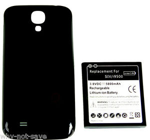 Extended replacement Internal Battery with back Cover for Samsung Galaxy S4 S IV