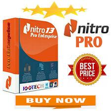 Nitro Pro 13 PDF 2020 Entreprise | Lifetime Activateion | Fast Delivery