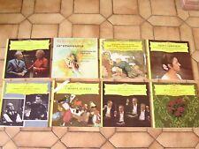 lot 8 disques vinyles musique classique (deutsche grammophon)