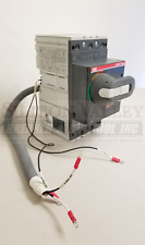 ABB SACE Tmax T4N150TW 3P150A 600V with ROTARY HANDLE