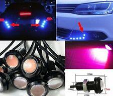 Purple 10x 5W COB LED DRL Puddle light Under Car Bumper projector MSS J