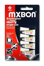 MXBON Superglue Liquid Single Use x4