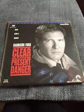 Clear and Present Danger Laserdisc