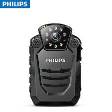 Philips VTR8200 Police Body Cam Camera IR LED GPS Walkie Talkie 60FPS HD 2K 30MP