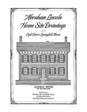 Abraham Lincoln Home Site Drawings, Architectural Plan Drawings