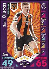 2016 / 2017 EPL Match Attax Base Card (122) Sam CLUCAS Hull City