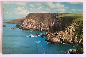 Vintage postcard of Muckle Flugga, Shetland posted 1976