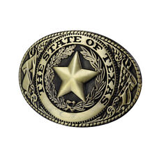 Belt Buckle Replacement Alloy Metal 38-40mm The State of Texas Star Men Western