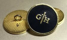 Gieves & Hawkes Initials Mens Blazer Jacket Button Set 9 Buttons