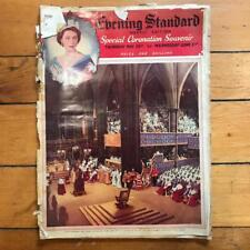 Vintage Evening Standard Weekly Edition Magazine 1953 Queen Elizabeth Coronation