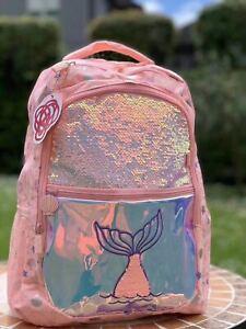 NEW SMIGGLE kids Backpack girls School Bag Dreamy Tail Tiny Purple